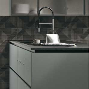 Cucina modulare di qualità, Cucina con pareti attrezzate