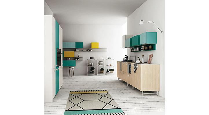 Mobili per cucina freestanding design casa creativa e for Mobili cucine a gas