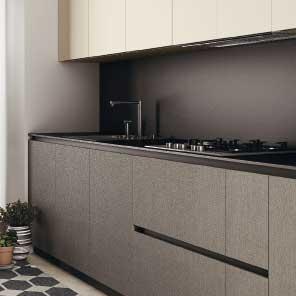 Top cucine in fenix ntm cucina componibile moderna - Top cucina fenix prezzo ...