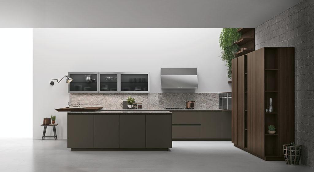 Cucina componibile moderna cucina di design for Longhi arredamenti
