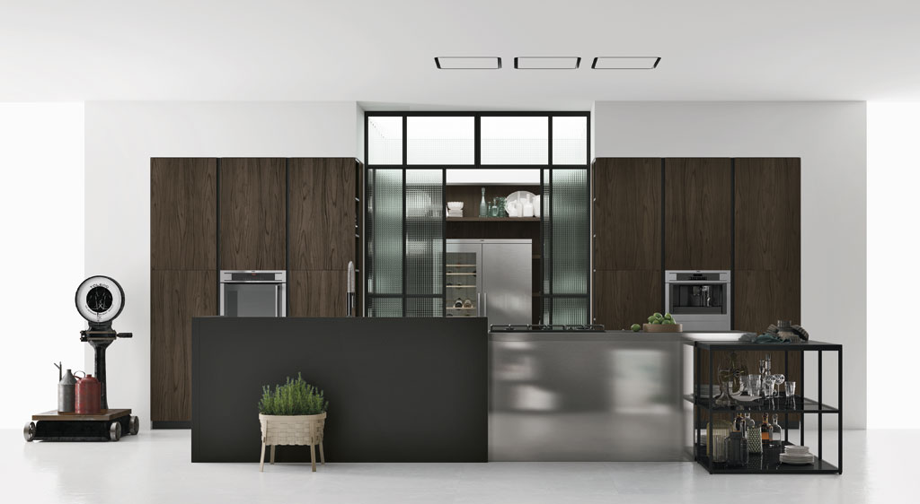Cucina componibile moderna, cucina di design