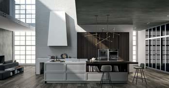 Cucine di design collezioni cucine modulari - Cucine stile contemporaneo ...