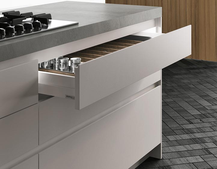 Awesome cassetti scorrevoli cucina contemporary home - Guide per cassetti ikea ...