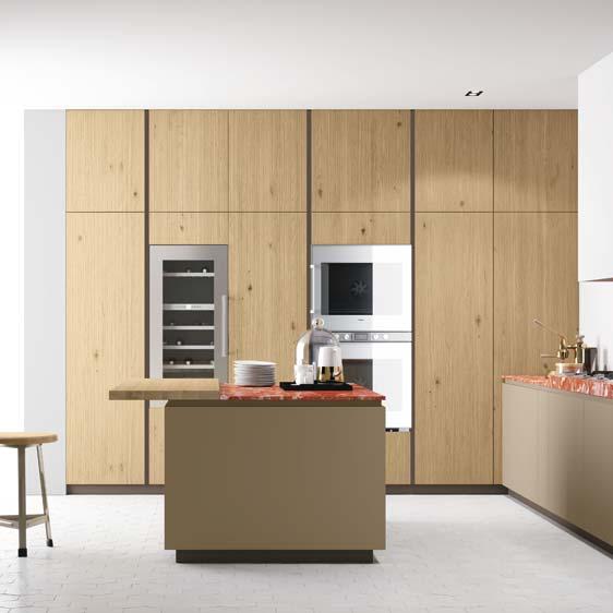 Colonne cucina mobili a colonna guida alla scelta della for Piani di cucina con isola e camminare in dispensa