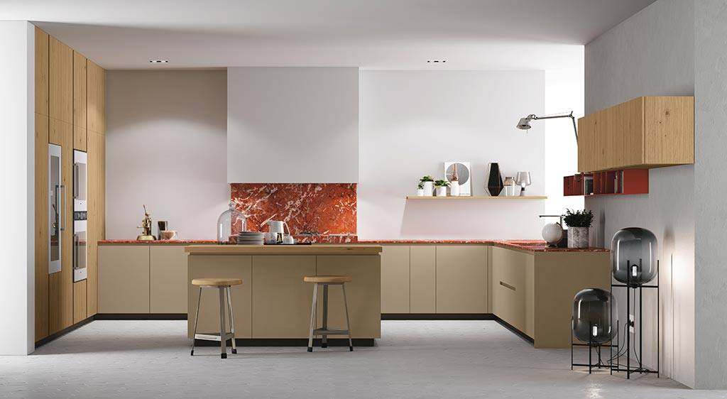 U Shaped Kitchens | Doimo Cucine
