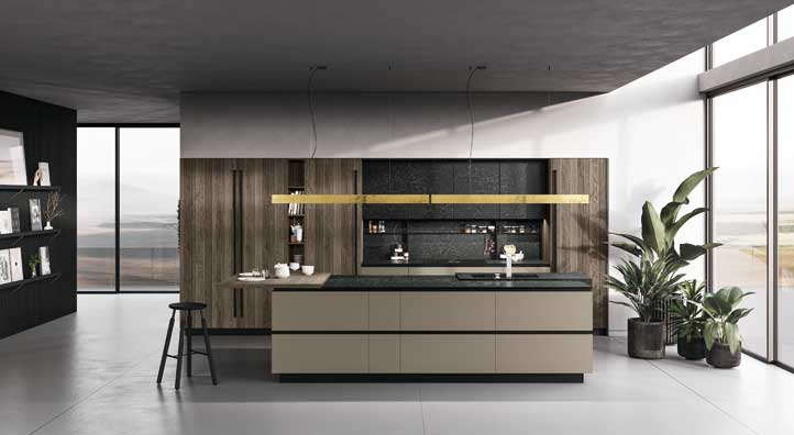 Best cucine a isola pictures for Paraschizzi cucina plexiglass