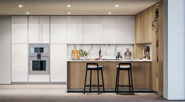 Cucine a penisola guida alla scelta della cucina - Mensole cucina moderna ...