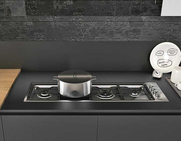 Piani cottura guida alla scelta della cucina - Piano della cucina ...