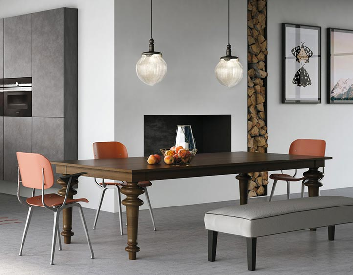 Banco colazione cucina elegant tavolo isola in marmo for Aprire piani casa concetto