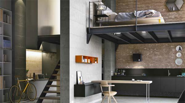 Come creare una cucina in stile industriale | Doimo Cucine